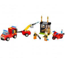 Чемоданчик «Пожарная команда», 10740 Lego Juniors