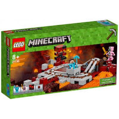 Железная дорога Нижнего мира, 21130 Lego Minecraft