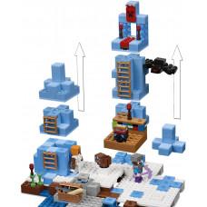 Ледяные башни, 21131 Lego Minecraft