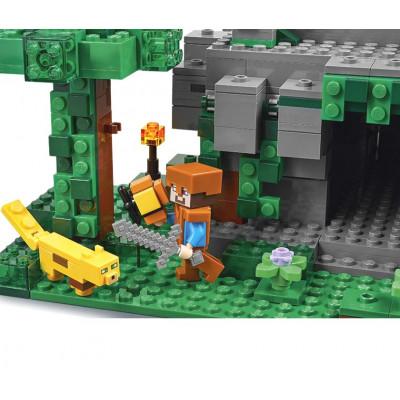 Храм в джунглях, 21132 Lego Minecraft