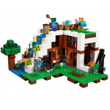 Секретное убежище за водопадом, 21134 Lego Minecraft