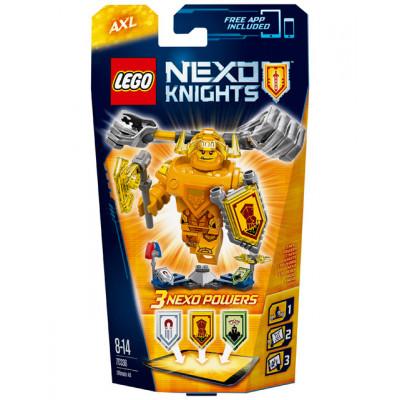 Аксель - Абсолютная сила, 70336 Lego Nexo Knights