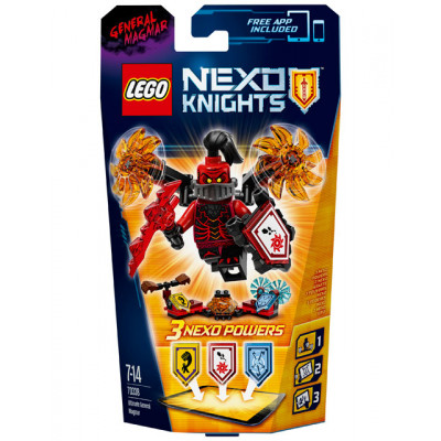 Генерал Магмар - Абсолютная сила, 70338 Lego Nexo Knights