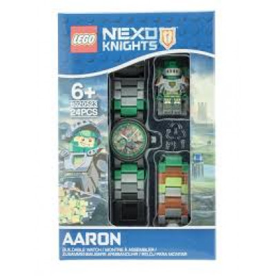 Часы наручные Аарон с минифигуркой Nexo Knights, 8020523 Lego