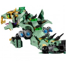 Механический дракон Зелёного ниндзя, 70612 Lego Ninjago Movie