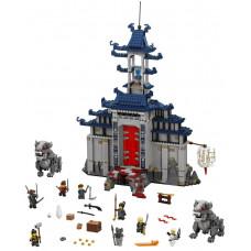 Храм Последнего великого оружия, 70617 Lego Ninjago Movie