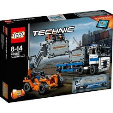 Контейнерный терминал, 42062 Lego Technic