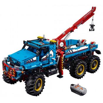 Аварийный внедорожник 6х6, 42070 Lego Technic