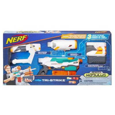 "Бластер Nerf Модулус ""Три-Страйк"", b5577 Hasbro"