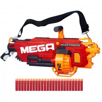 """Бластер Nerf Мега """"Мастодон"""", b8086 Hasbro"""