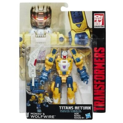 "Набор ""Titans Return"" - Монзо и Вулфвайр, b7762 Hasbro"