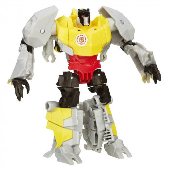 Трансформер Gold Armor Grimlock Роботс-ин-Дисгайс Войны, b0070 Hasbro