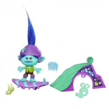 Тролль Бранч на скейте Trolls, b6556 Hasbro