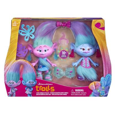 """Набор """"Модные близнецы"""" Trolls, b6563 Hasbro"""