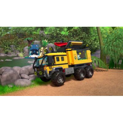 Джунгли: Мобильная лаборатория, 60160 Lego City