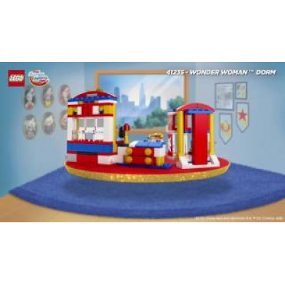 Дом Чудо-женщины, 41235 Lego Super Hero Girls