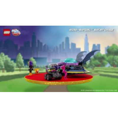Бэтгёрл: Погоня на реактивном самолёте, 41230 Lego Super Hero Girls