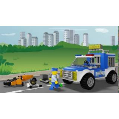 Погоня на полицейском грузовике, 10735 Lego Juniors