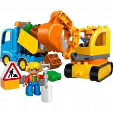 Грузовик и гусеничный экскаватор, 10812 Lego Duplo