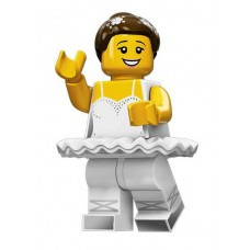 Балерина, 71011 минифигурка 15-я серия Lego