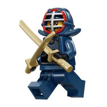 Фехтовальщик Кэндо, 71011 минифигурка 15-я серия Lego