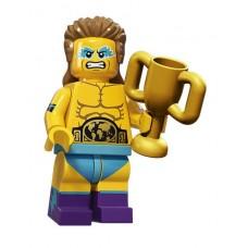 Рестлер, 71011 минифигурка 15-я серия Lego