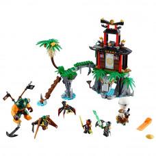 Остров Тигриных вдов, 70604 Lego Ninjago
