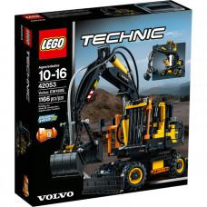 Экскаватор Volvo EW 160E, 42053 Lego Technic