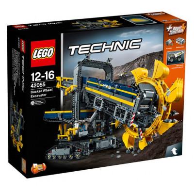 Роторный экскаватор, 42055 Lego Technic