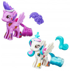 "Набор ""Создай свою пони"" Селестия и Твайлайт Спаркл My Little Pony, b3589 Hasbro"