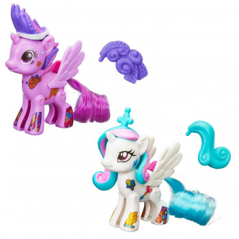 "Набор ""Создай свою пони"" Селестия и Твайлайт Спаркл My Little Pony, b3589 Hasbro"