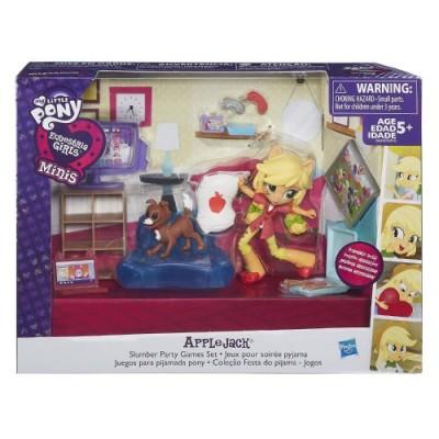 """""""Пижамная вечеринка"""" с мини-куклой ЭплДжек My Little Pony, b4910 Hasbro"""