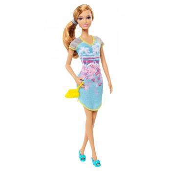 Кукла Barbie на пижамной вечеринке Summer, BHV06 Mattel
