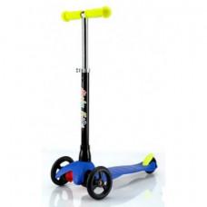 Самокат детский трехколесный с регулируемой рулевой стойкой, 64556 Moby Kids