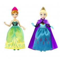 """Набор мини-кукол """"Холодное сердце"""" - Сестры Анна и Эльза, DFR78 Mattel"""