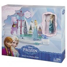 Кукла Эльза с катком и аксессуарами, DFR88 Mattel