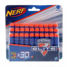 Комплект 30 стрел для бластеров NERF, а0351 hasbro
