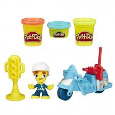 """Полицейский мотоцикл"" Play-Doh Город, b5959 Hasbro"