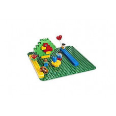 Большая строительная пластина / Конструктор Lego (Лего). Серия - Дупло (Duplo) 2304