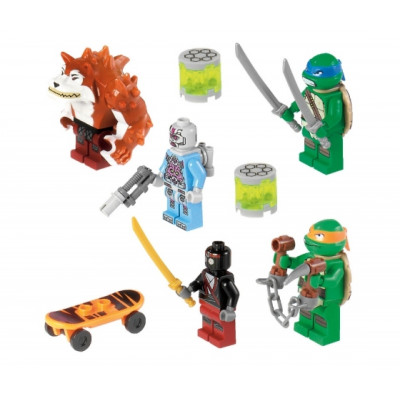 Преследование на грузовике черепашек, 79104 LEGO Черепашки Ниндзя