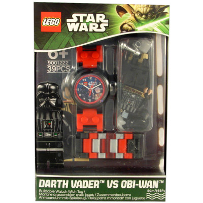 "Часы ""Дарт Вейдер и Оби-Ван Кеноби"", LEGO Star Wars"