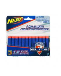 Комплект 12 стрел для бластеров NERF, а0350 hasbro