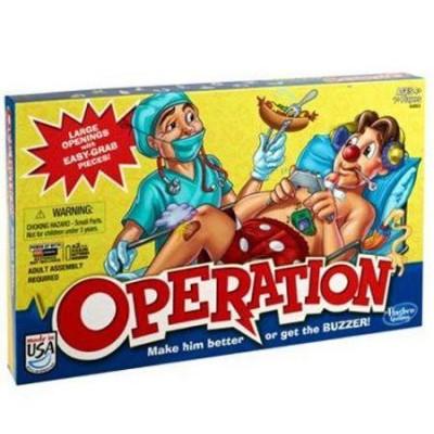 """Настольная электронная игра """"Операция"""", a4053 обновленная версия Hasbro"""