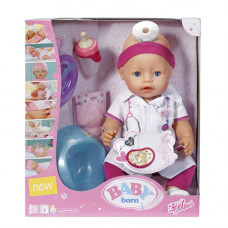 Интерактивная кукла Baby Born Доктор, 820421 Zapf